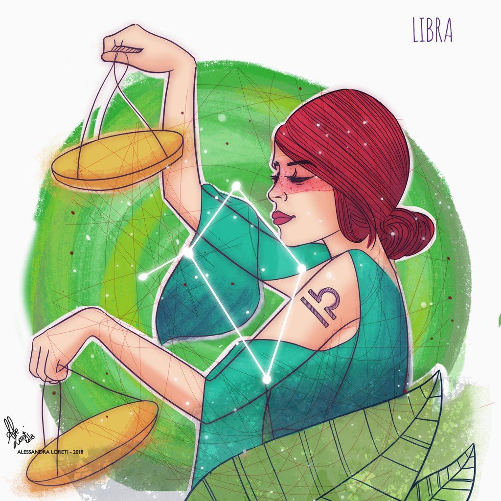 disegno creativo segni zodiacali bilancia - Alessandra Loreti