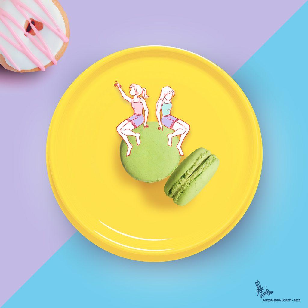 disegno creativo donuts - Alessandra Loreti