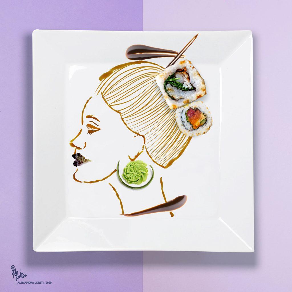 illustrazione Sushi