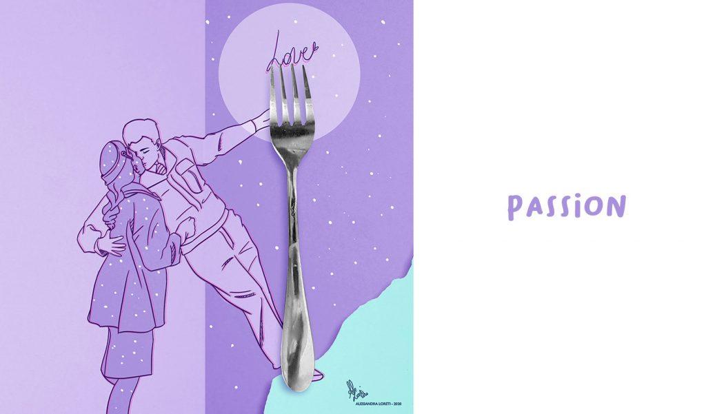 disegno creativo san Valentino - Alessandra Loreti