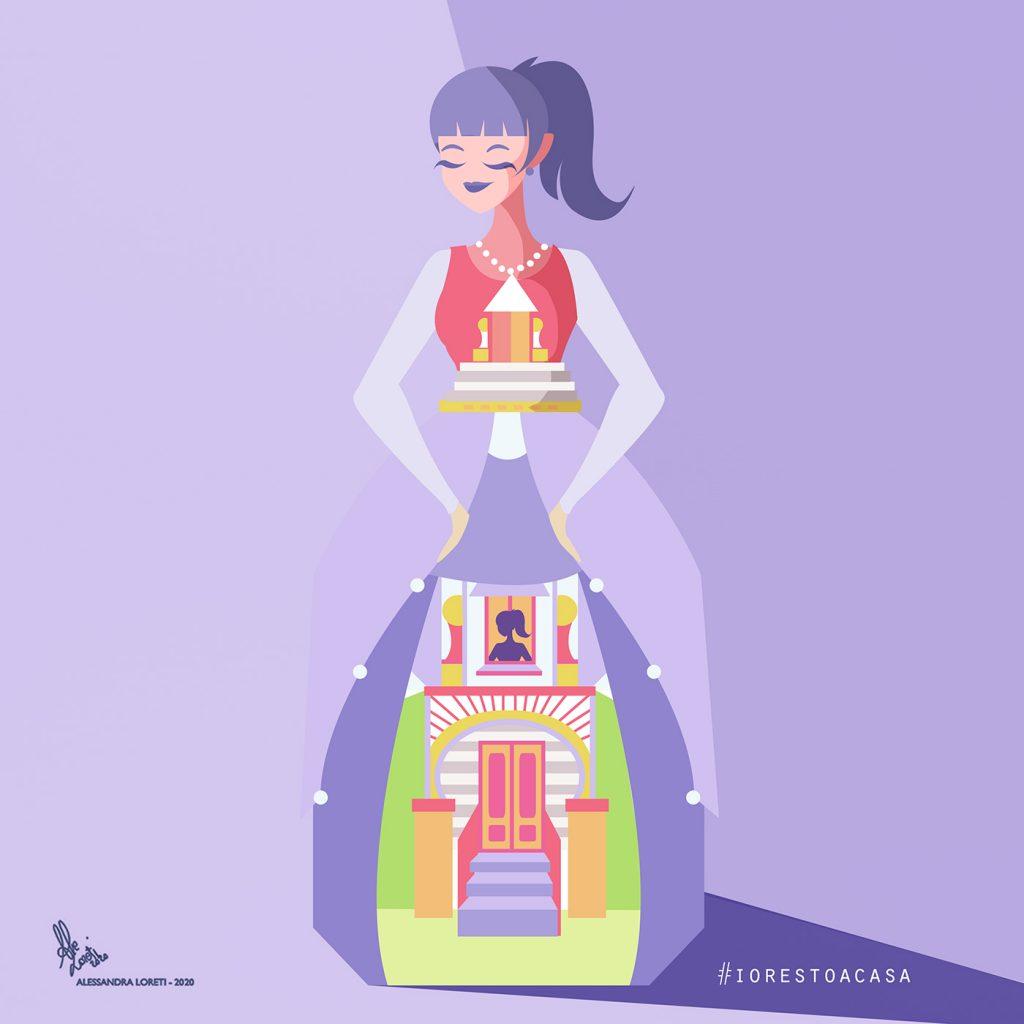 disegno creativo stay home - Alessandra Loreti