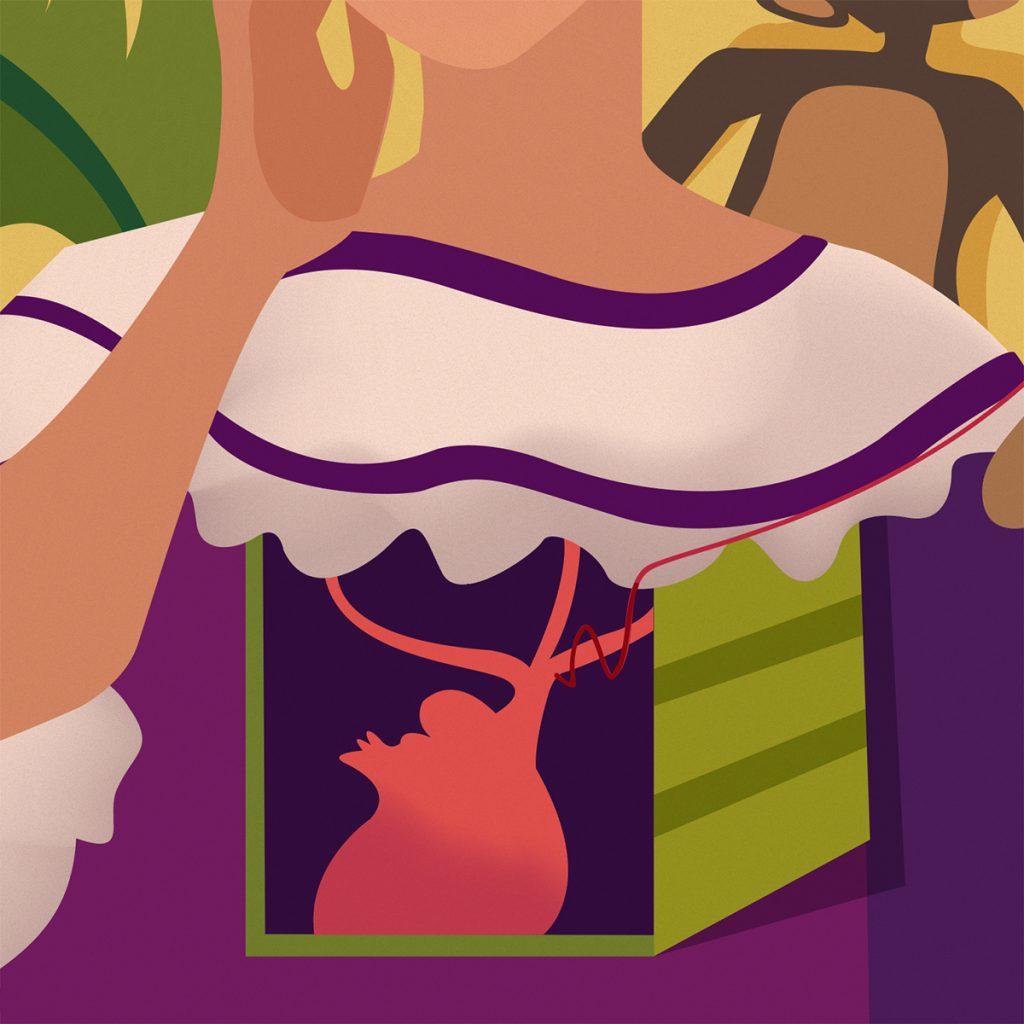 Progetto illustrato Frida Kahlo - Alessandra Loreti