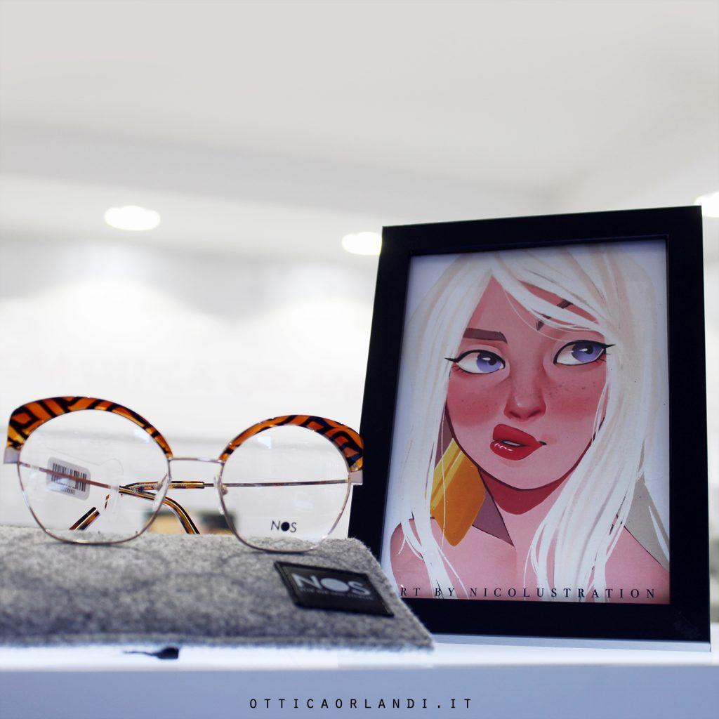 progetto vetrine artistiche di Ottica Orlandi - Alessandra Loreti